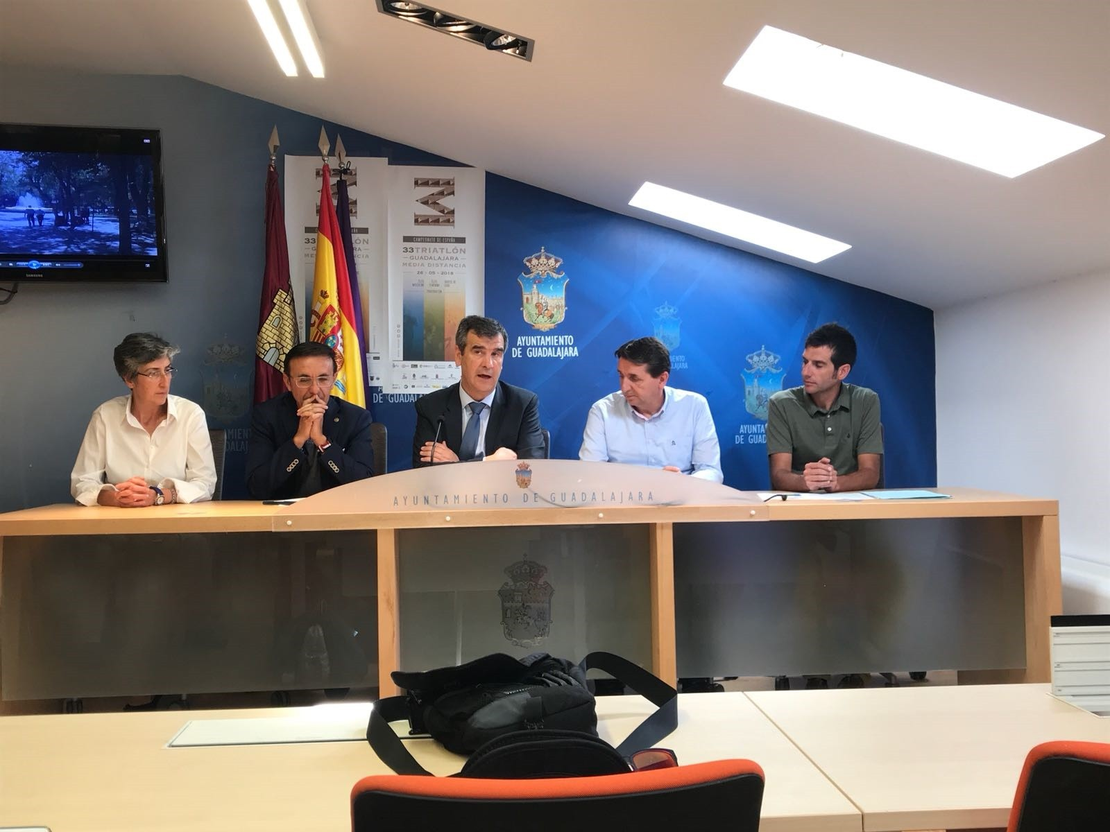 Presentación del Campeonato de España de MD en Guadalajara