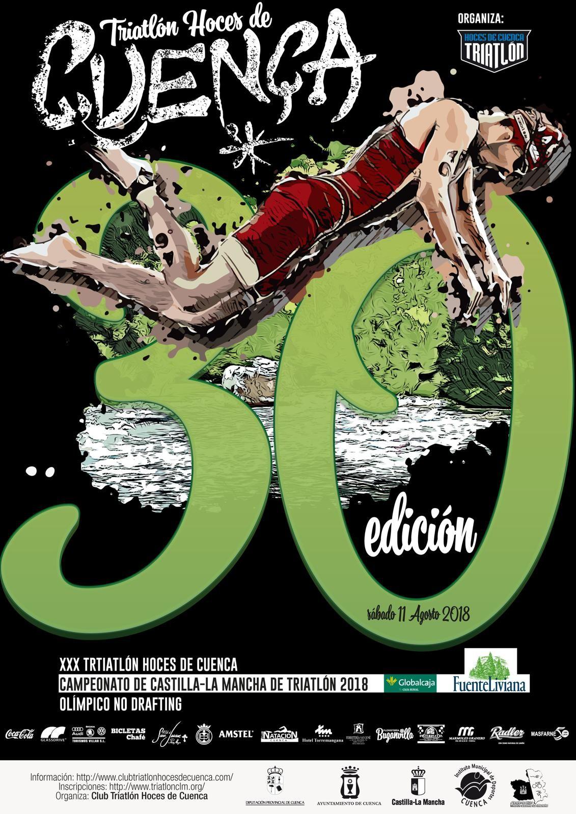 XXX Triatriatlón Ciudad De Cuenca - Campeonato Regional
