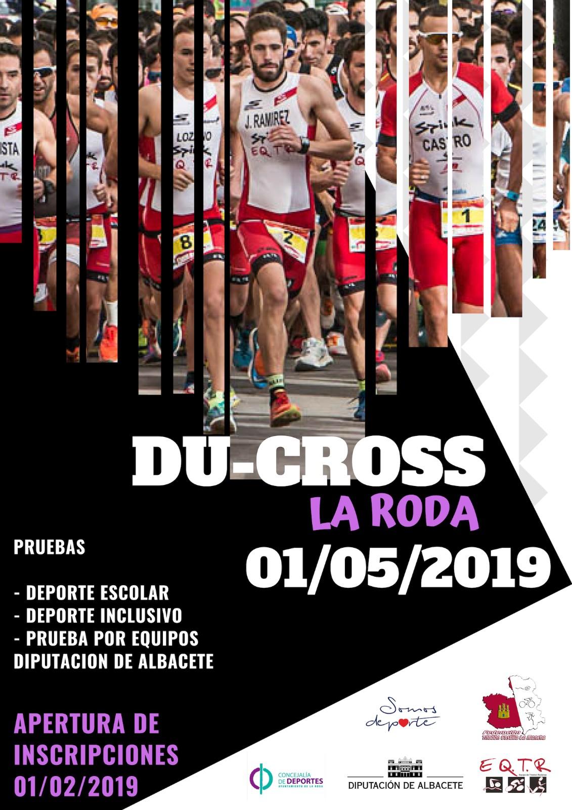 Duatlón cros  por Equipos - La Roda- Gran Premio Copa Diputación  -19