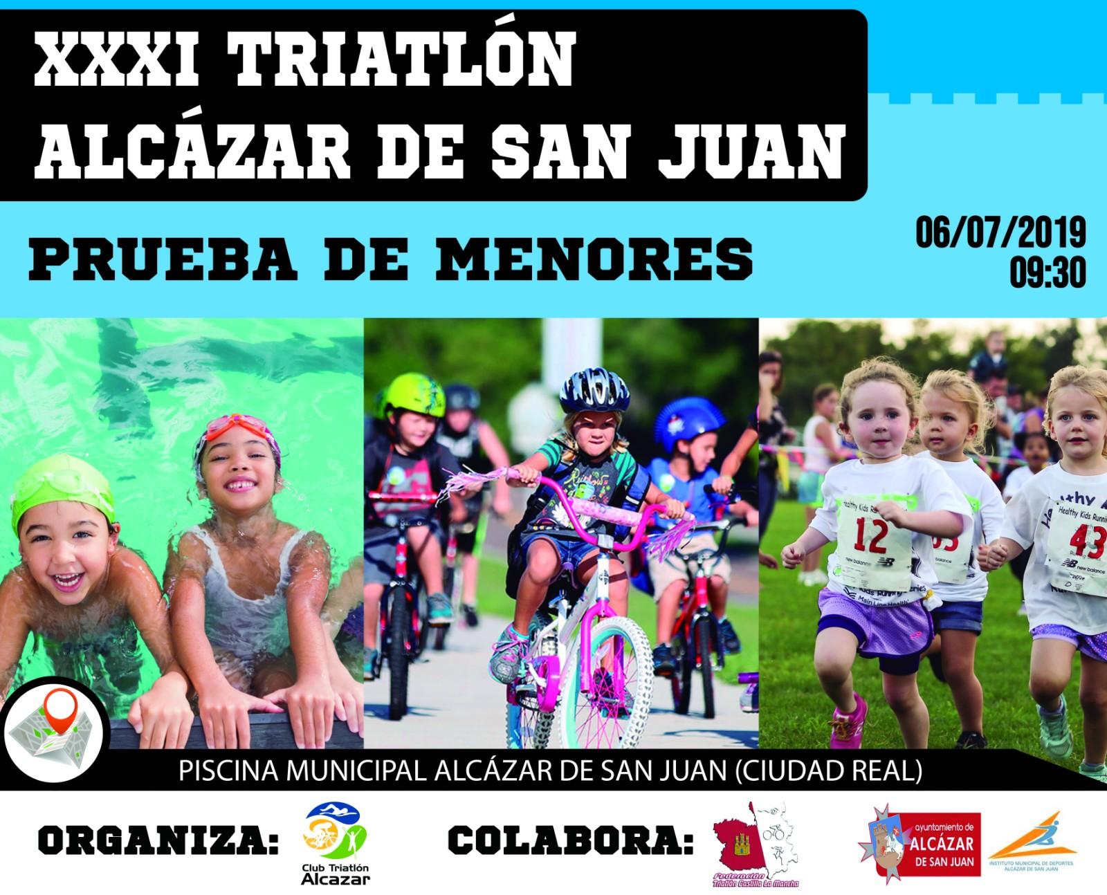 Resultados del Triatlón de Menores de Alcazar de San Juan