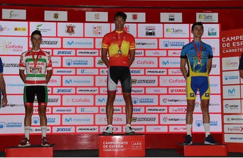 Javier Romo sorprende a los favoritos -Campeonato España Ciclismo Sub23 ruta