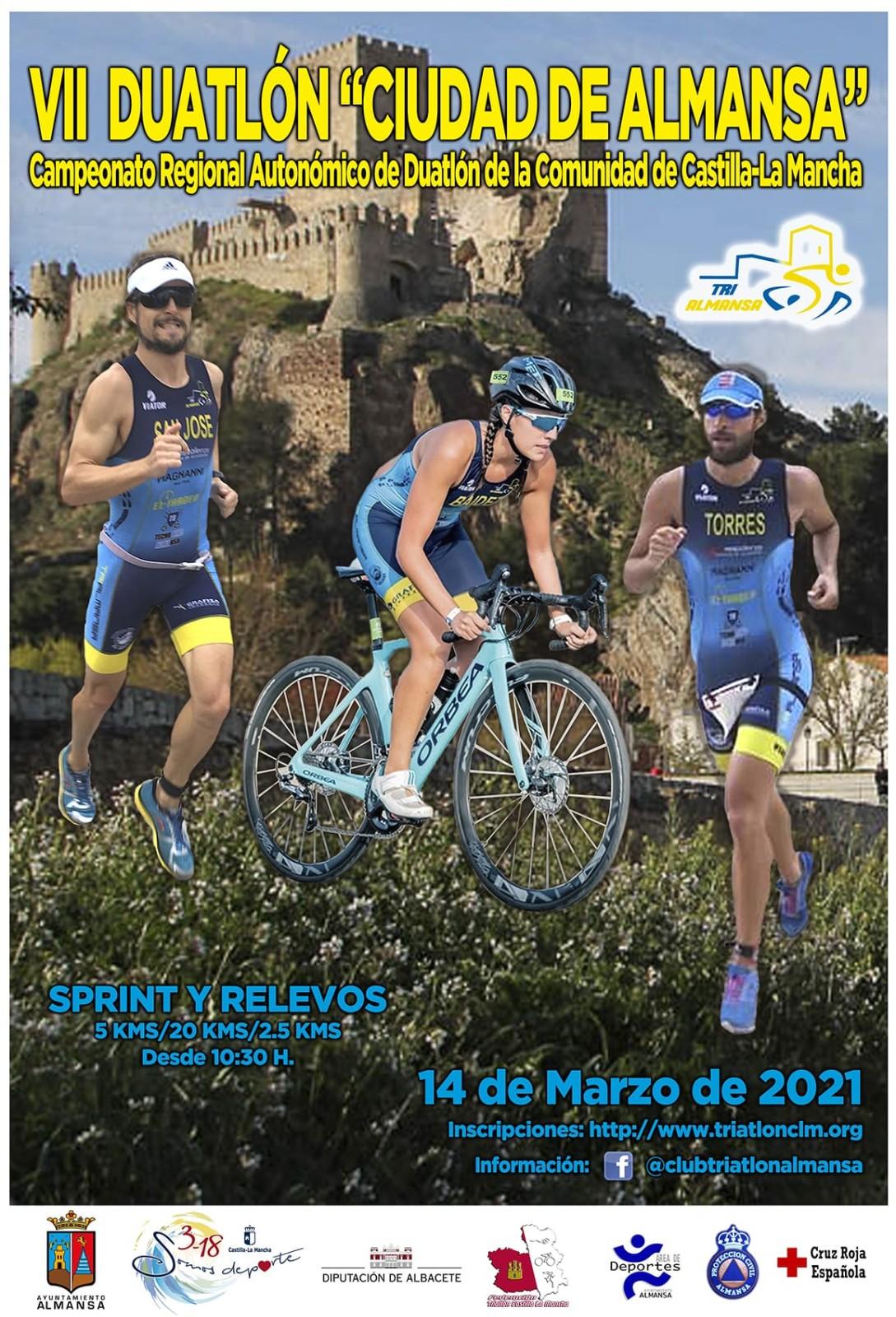 Publicada la lista de salidas del VII Duatlón de Almansa- Campeonato Regional