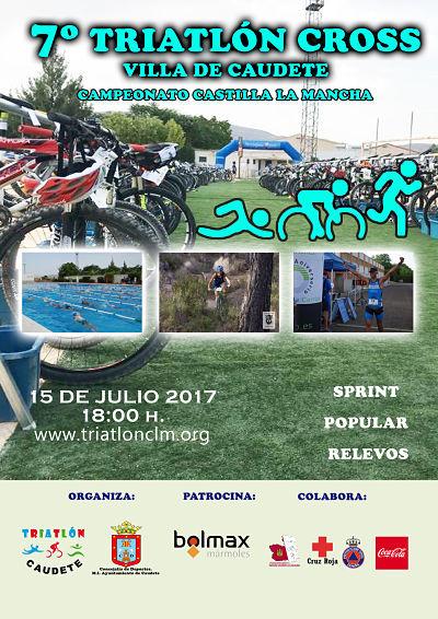 Publicadas Clasificaciones del Triatlón Cros de Caudete-Campeonato Regional