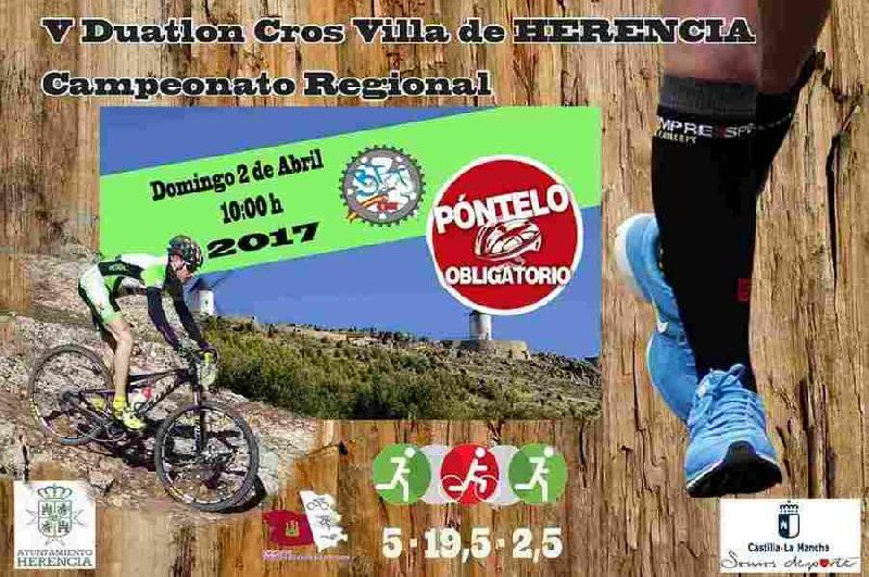 CAMPEONATO REGIONAL DUATLON CROSS-  HERENCIA